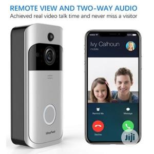 Wifi Video Camera Doorbell With Night Vision Two Way Audio For Home | Home Appliances for sale in Lagos State, Ikeja