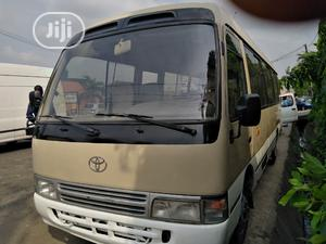 Toyota Coaster Bus 2004 Leather Interior | Buses & Microbuses for sale in Lagos State, Ikeja