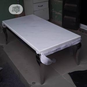 Marble Center Table & Side Stools | Furniture for sale in Lagos State, Victoria Island