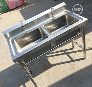 Industrial Kitchen Sink Wash Basin | Restaurant & Catering Equipment for sale in Lagos State, Ojo