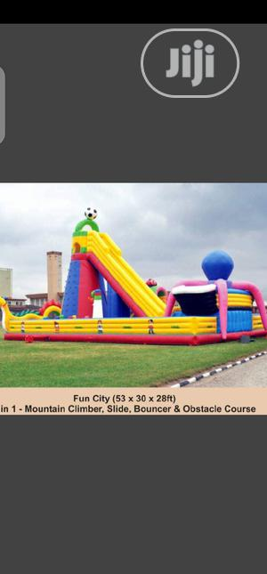 Brand New Bouncing Castle Mountain Climbers Size 53 X 30 X 28ft   Toys for sale in Lagos State, Surulere