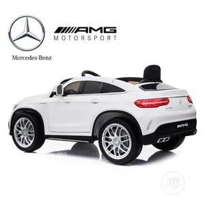 White Coupe Ride on Car Mercedes Benz GL 63 Toy   Toys for sale in Lagos State, Lagos Island (Eko)