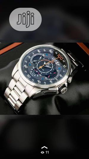 TAG Heuer Chronograph Silver Chain Watch | Watches for sale in Lagos State, Lagos Island (Eko)