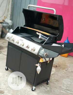 6 Burner Gas Barbeque Grill With Side Grill   Kitchen Appliances for sale in Lagos State, Ojo