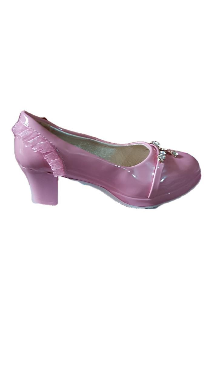 Girl Pink Dress Shoe