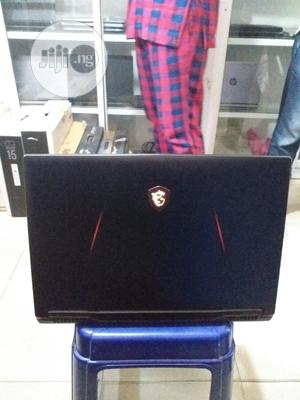 Laptop MSI 32GB Intel Core I7 SSHD (Hybrid) 1.5T   Laptops & Computers for sale in Lagos State, Ikeja