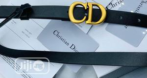 Original Christian Dior (CD) Leather Belt for Men's | Clothing Accessories for sale in Lagos State, Lagos Island (Eko)