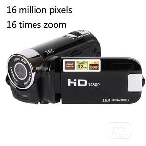 Portable HD Digital Video Camera Recorder 16MP 16X Zoom | Photo & Video Cameras for sale in Lagos State, Ikeja