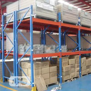 Customizes Steel Heavy Duty Warehouse Storage Pallet Racks   Store Equipment for sale in Lagos State