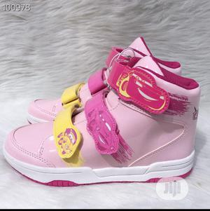 Pink Car Race High Top Sneakers | Children's Shoes for sale in Lagos State, Lagos Island (Eko)