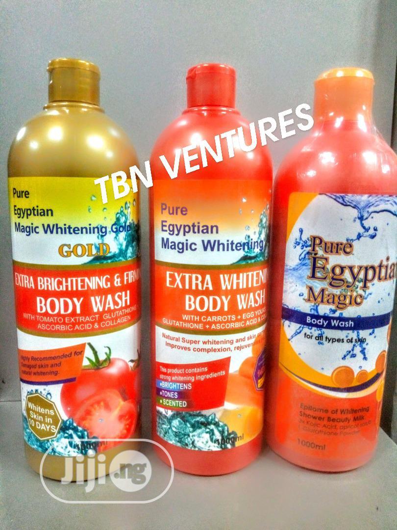 Pure Egyptian Magic Whitening Shower Gel Varieties