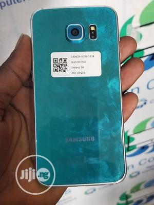 Samsung Galaxy S6 32 GB Blue | Mobile Phones for sale in Lagos State, Mushin