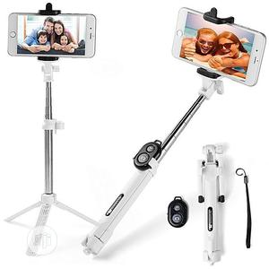Extendable Remote Bluetooth Shutter Selfie Stick For Phones   Accessories for Mobile Phones & Tablets for sale in Lagos State, Surulere