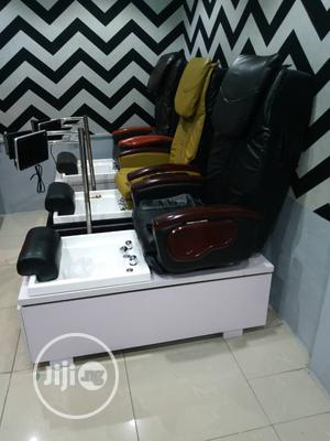 Pedicure Spa Chair Black | Health & Beauty Services for sale in Abuja (FCT) State, Kubwa