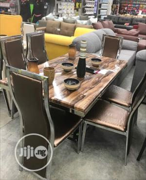 Affordable Marble Dining Table With Six Chairs | Furniture for sale in Lagos State, Maryland