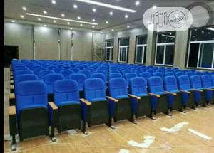 Blue Auditorium/Hall Chairs With High Foam | Furniture for sale in Lagos State