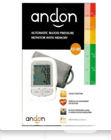 Archive: Andon Automatic Blood Pressure Monitor Machine