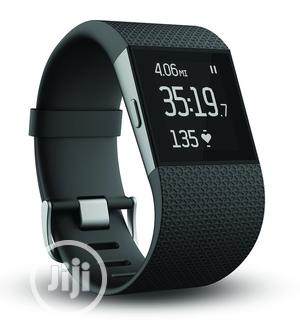 Fitbit Surge Fitness Superwatch - Small - Black   Smart Watches & Trackers for sale in Lagos State, Ikeja