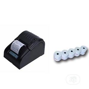 Xprinter 58mm Thermal Receipt Printer + 5 Rolls Paper | Printers & Scanners for sale in Lagos State, Ikeja