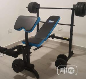 Imported JX Fitness Bench Press With Complete Accessories | Sports Equipment for sale in Lagos State, Surulere