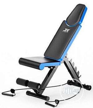 Brand New Imported JX Fitness Adjustable Sit-up Bench With DUMBELL | Sports Equipment for sale in Lagos State, Surulere