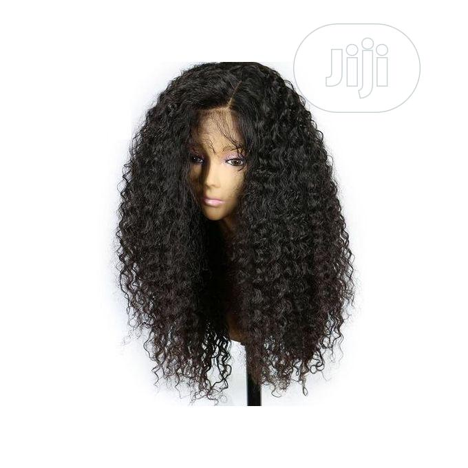 Curly Wavy Long With Natural Soft Black Wigs