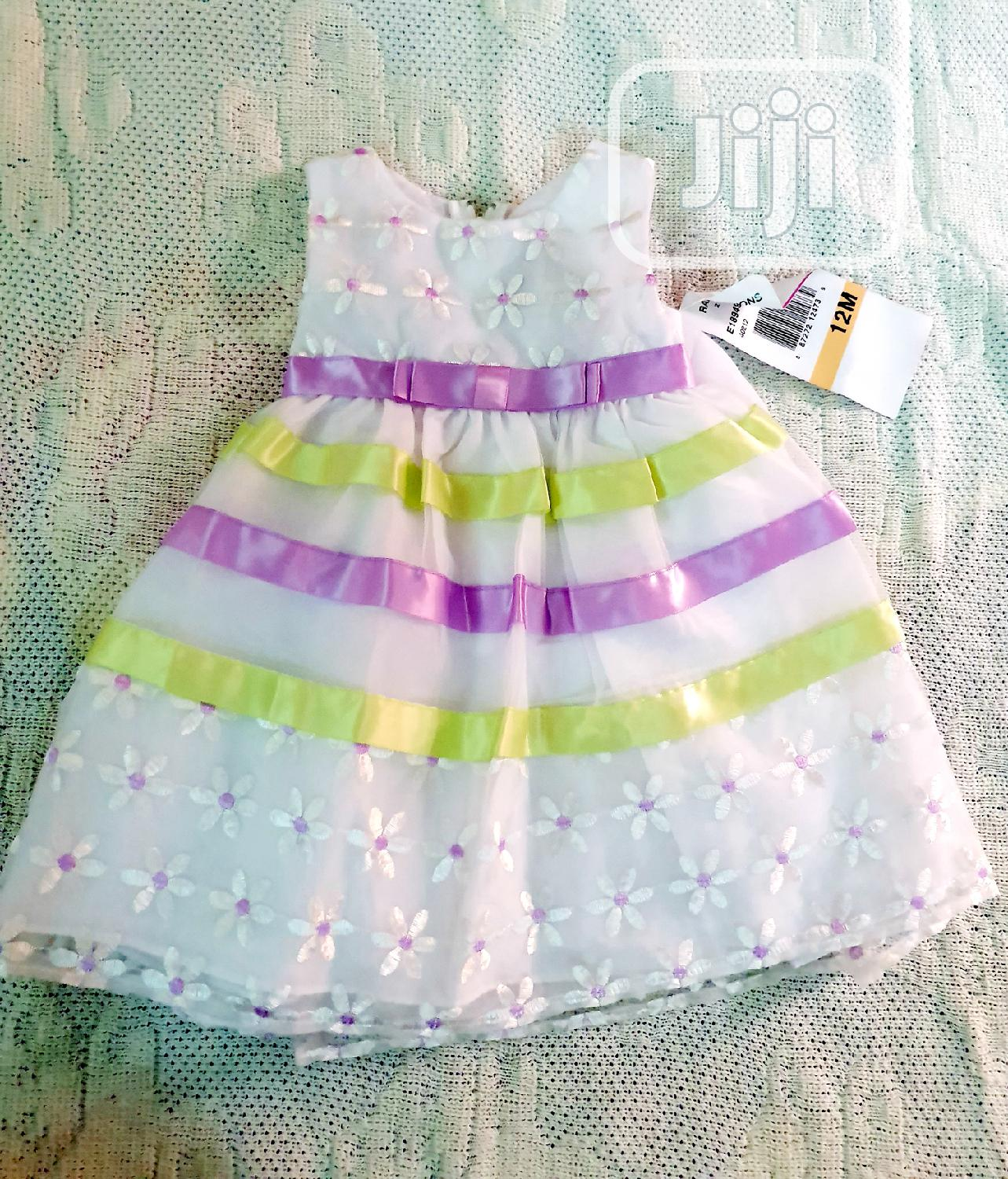 Archive: Rare Editions Baby Girl 2 Piece Set Dress for Special Occassion