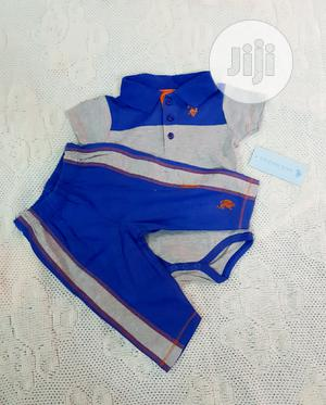 US Polo Assn. Baby Boys 2 Piece Set for 3 to 6 Months   Children's Clothing for sale in Lagos State, Victoria Island
