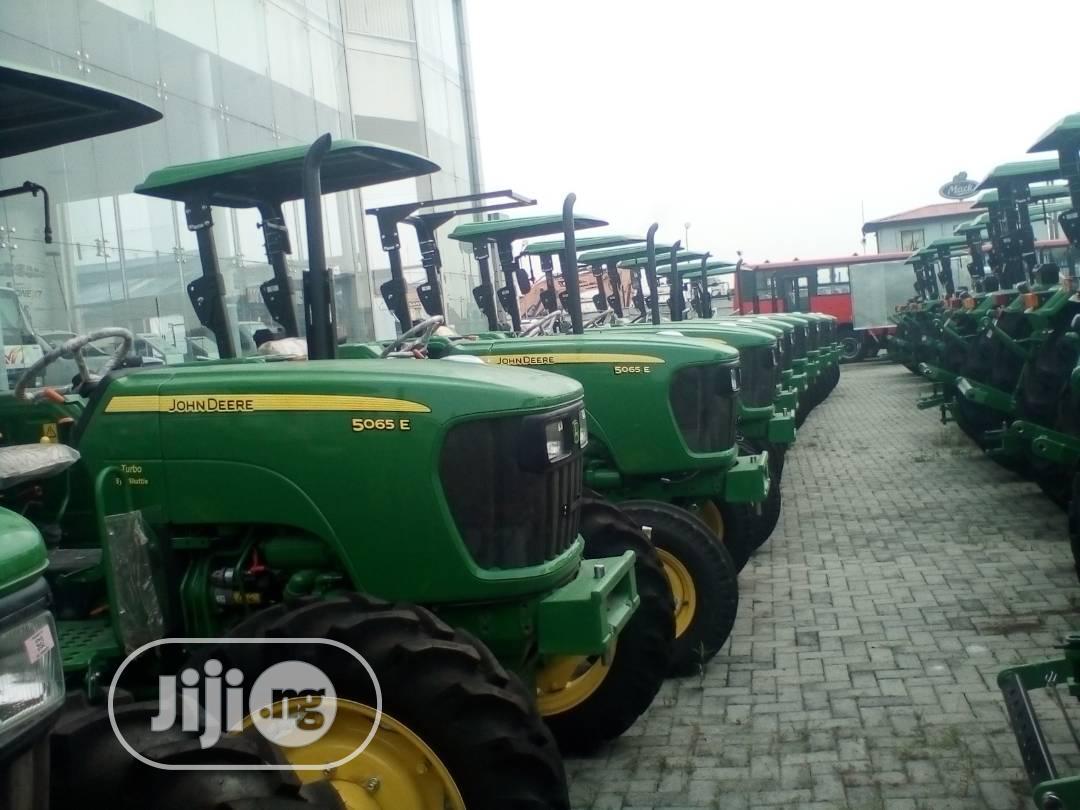 Archive: New John Deere Tractors