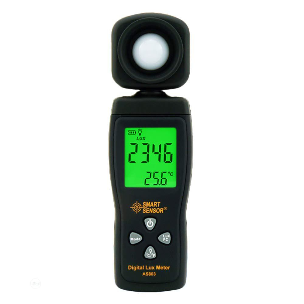 Handheld AS803 Luxmeter Digital Light Meter Lux Meter | Measuring & Layout Tools for sale in Amuwo-Odofin, Lagos State, Nigeria