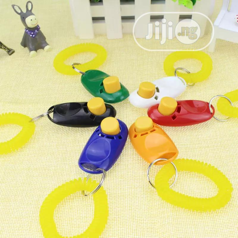 Dog Training Guide Clicker   Pet's Accessories for sale in Ifako-Ijaiye, Lagos State, Nigeria