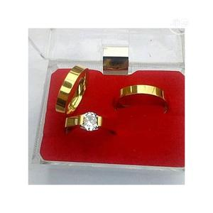 Gold Plated Couples Wedding Rings | Wedding Wear & Accessories for sale in Lagos State, Surulere