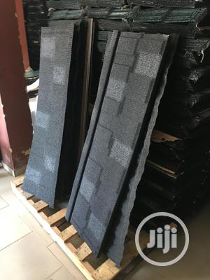 Sunrise Black and White Shingle Stone Coated Roofing Sheet   Building Materials for sale in Lagos State, Ajah
