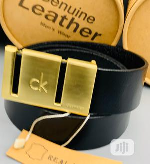 Calvin Klein (CK) Leather Belt for Men's   Clothing Accessories for sale in Lagos State