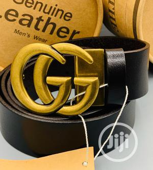 Gucci Leather Belt for Men's   Clothing Accessories for sale in Lagos State