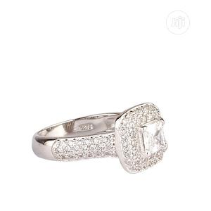 Engagement Ring With Cubic Zirconia Stone.   Wedding Wear & Accessories for sale in Lagos State, Surulere