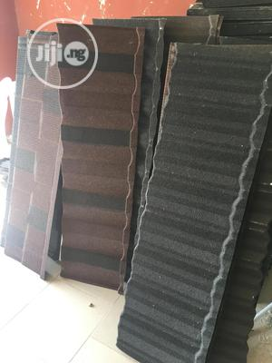 Pure Black Original Classic Stone Coated Roofing Sheet   Building Materials for sale in Lagos State, Ajah