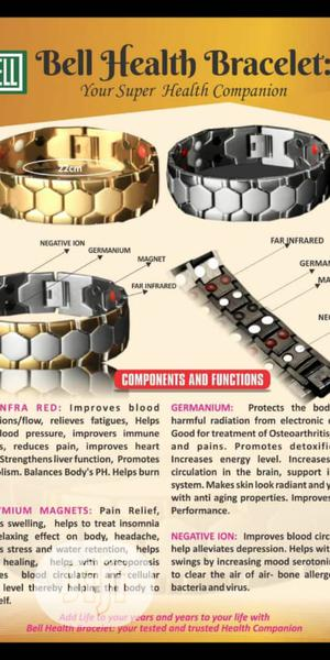 Bioenery Health Bracelets Proper Circulation And Body Healing. | Tools & Accessories for sale in Lagos State, Ikeja