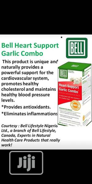 Heart Support Garlic Combo for Heart Issues Chest Pain. | Vitamins & Supplements for sale in Lagos State, Ikeja
