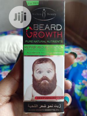 Beard Growth Oil | Skin Care for sale in Lagos State, Oshodi