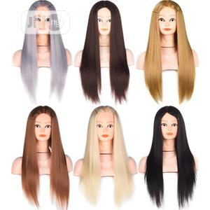 Long Straight Hair Bangs Mannequin Head Wig | Hair Beauty for sale in Lagos State, Ikoyi