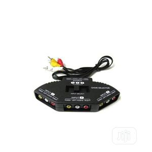 3-way Audio/Video AV Switch Selector Box Splitter - Black | Accessories & Supplies for Electronics for sale in Lagos State, Ikeja
