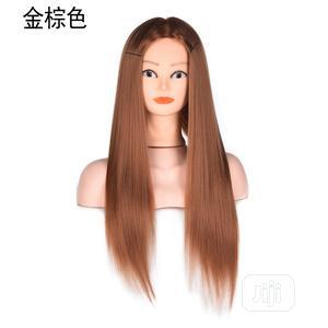 Long Light Brown Hair Practice Head Wig | Hair Beauty for sale in Lagos State, Ikoyi
