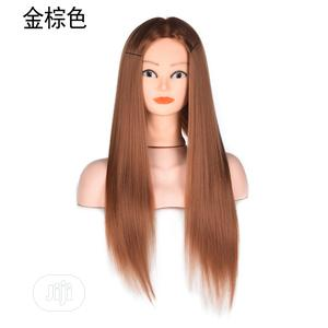 Silk Mold Light Brown Mannequin Wig | Hair Beauty for sale in Lagos State, Victoria Island