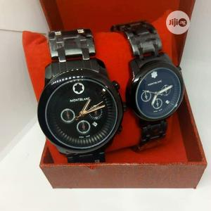 Montblanc Black Chain Watch for Couple's   Watches for sale in Lagos State