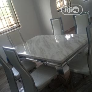 Marble Dining Table   Furniture for sale in Lagos State, Amuwo-Odofin