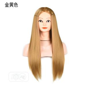 Mannequin Head Wig Braided Golden Yellowish Hair | Hair Beauty for sale in Lagos State, Lekki