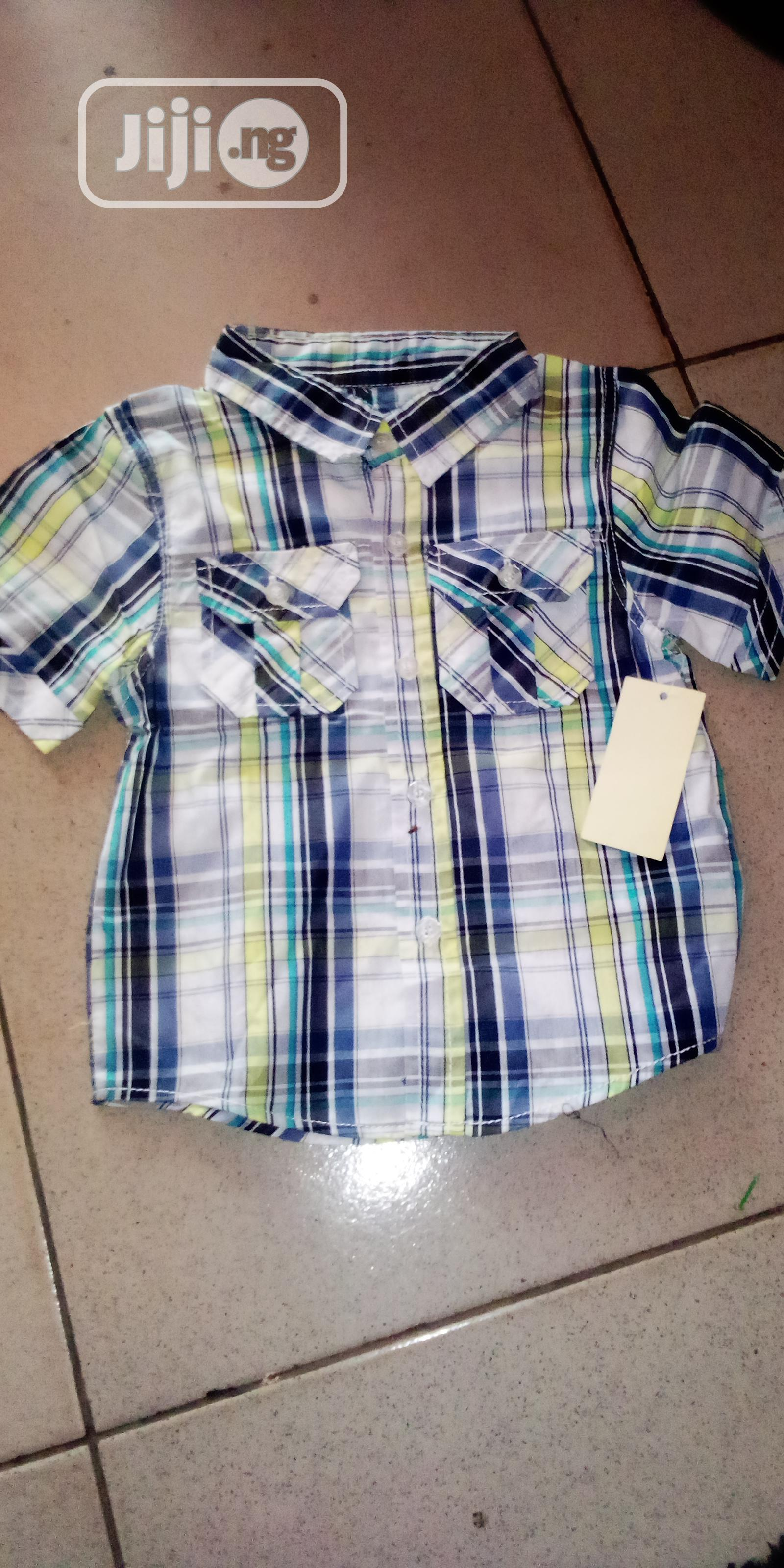 Archive: Boys Shirt With Two Pockets