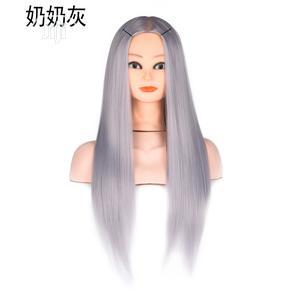 Mannequin Head Grandma Gray Hair Wig | Hair Beauty for sale in Lagos State, Ikoyi