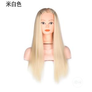 Mannequin Head Wig Rice White Braided Hair | Hair Beauty for sale in Lagos State, Lekki